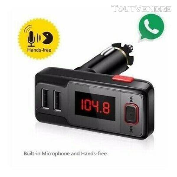 Kit bluetooth voiture mains libres de voiture télécommande