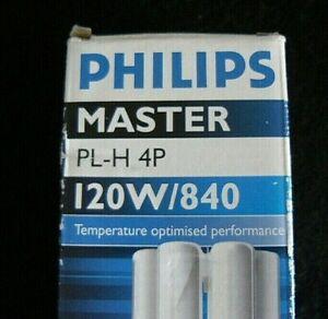 Neuve lampe philips master pl-h 4p 120w 840 264053xx 2g8-1
