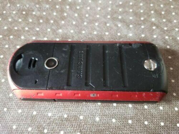 Telephone portable samsung solide gt b2100 débloqué