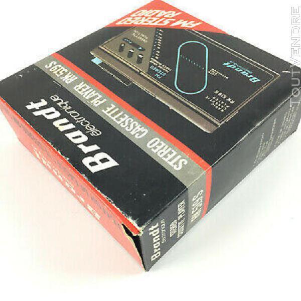 Brandt rk 519 s for repair / walkman cassette player vintage