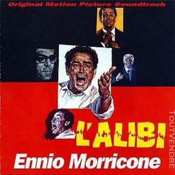 Cd bof collector limité--l'alibi--ennio morricone