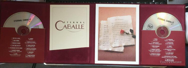 "Double cd collector montserrat caballe "" eternal caballe"""