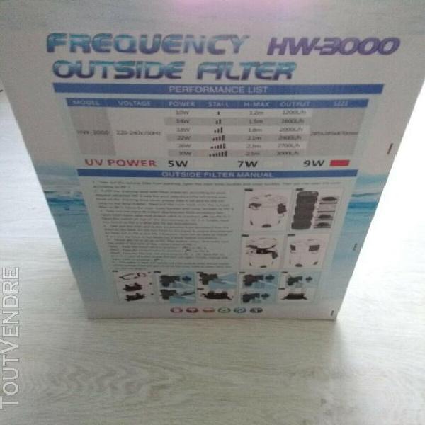 Filtre externe 3000 l/h