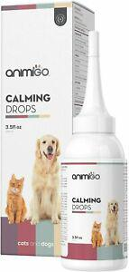 Gouttes anti stress soin animaux de compagnie chien chat