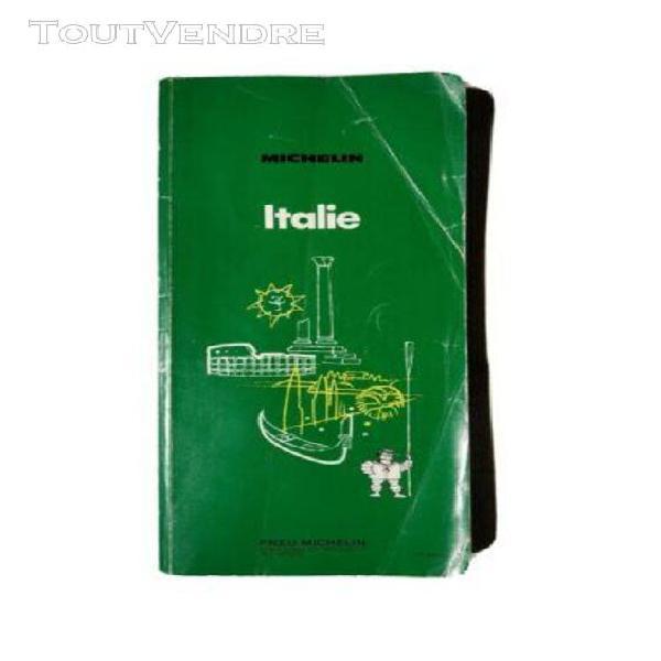 Guide michelin 1973 italie (vert) - très bon état