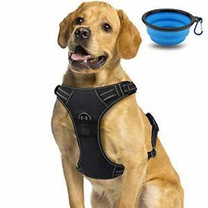 Harnais chien, harnais anti traction réglable
