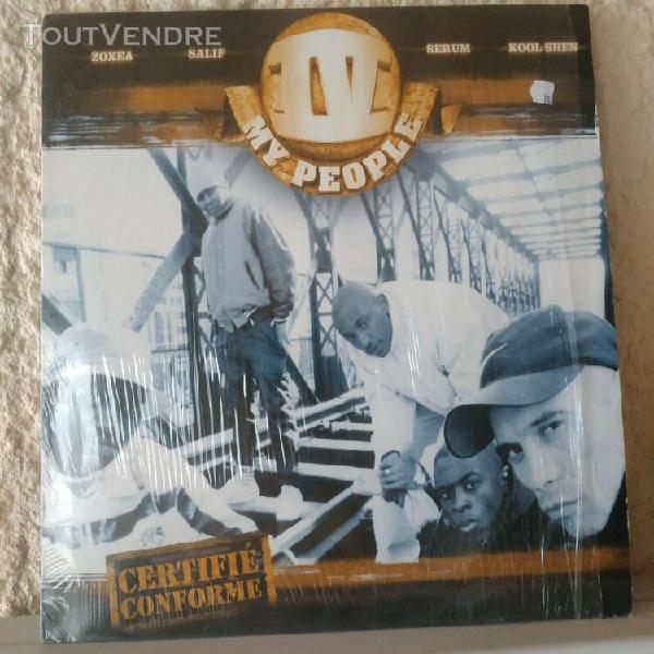 Iv my people - certifie conforme (vinyle 33t / rap fr)