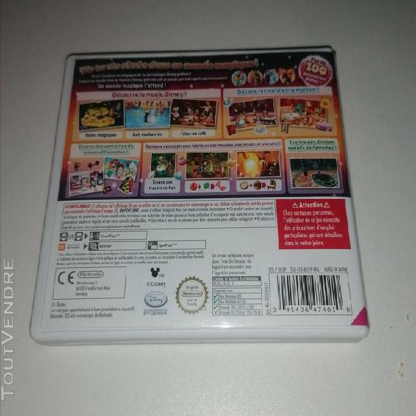 Jeux vidéo disney magical world 2 nintendo 3ds