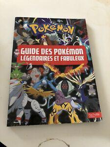 Livre pokemon guide fabuleux et legendaire
