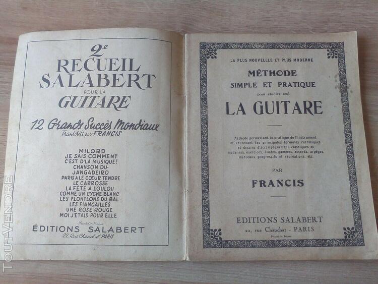 Methode simple et pratique pour etudier seule la guitare