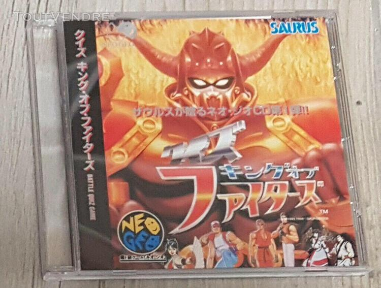 Quiz of the fighters - jeu neo geo cd snk - japan - spine ca