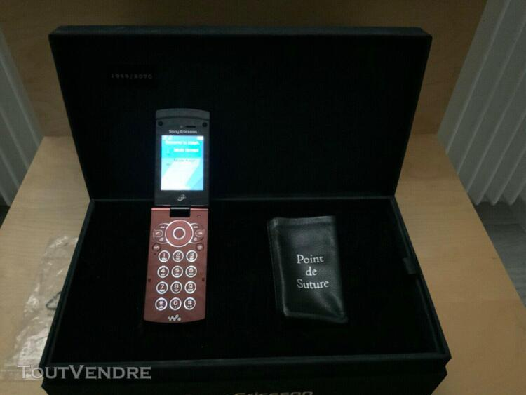 Telephone sony ericsson point de suture