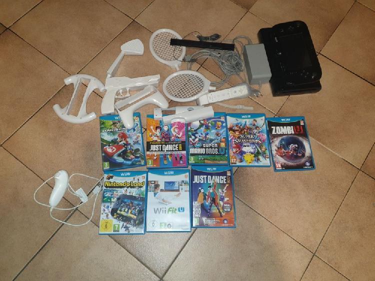 Wii u 8 jeux accessoires manettes neuf, noisy-le-grand