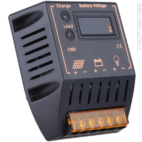 10 a 12v/24v lcd affichage charge solaire contrôleur