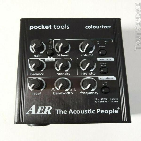 Aer colourizer pocket tool preamp/direct box for line & mic