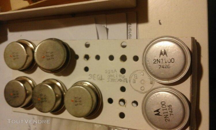 Anciens transistors puissance csf cosem autres; nombre env