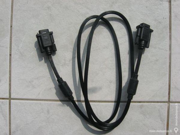 Cable vga neuf occasion, mouzillon (44330)