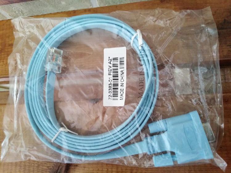 Câble console rj45 vers db9 de 1,8 m pour routeur cisco