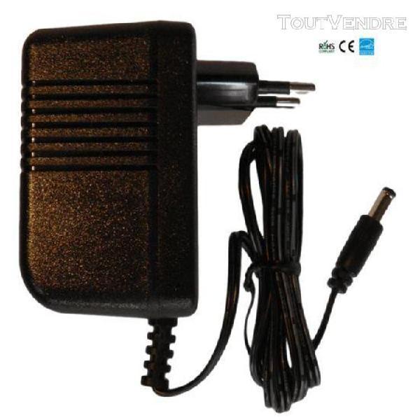 Chargeur / alimentation 9v compatible avec pédale d'effets