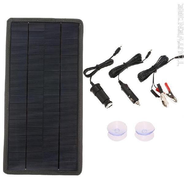 Chargeur solaire de batterie de voiture 12v de panneau d&#39