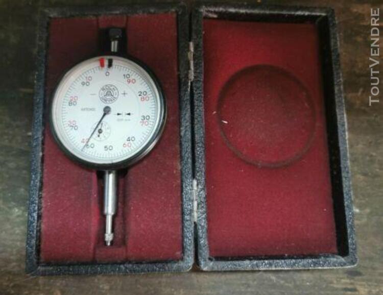 Comparateur ancien mécanique roch france 0,01-10