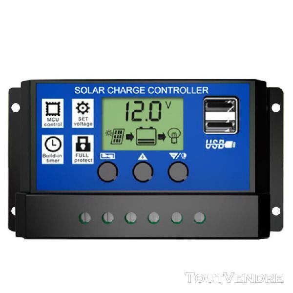 Contrôleur intelligent de contrôleur de charge de batterie