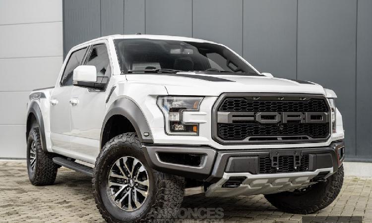 Ford f150 2020 oxford white f-150 raptor 802a luxury+55g+55r