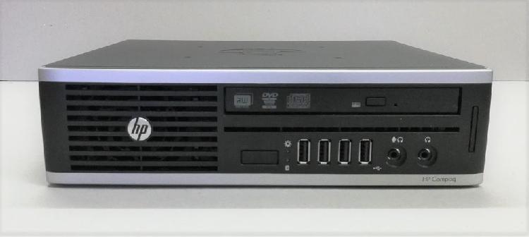 Hp compaq 8200 elite business pc ultra slim desktop + ecran