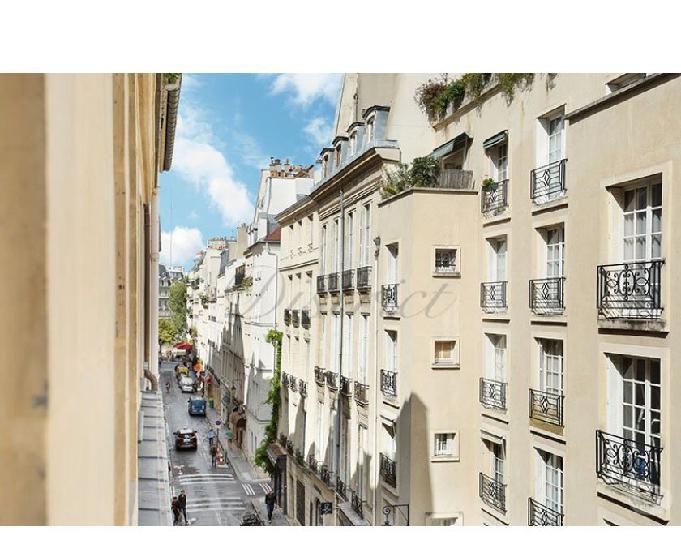 Ile saint louis - rue saint louis en l'ile. très beau 3...