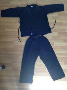 Kimono noir taille 150