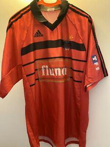 Maillot foot porté match worn shirt coupe des princes 2000
