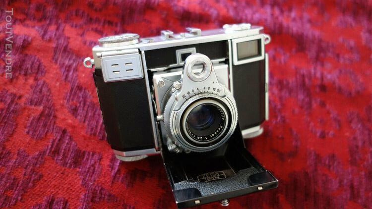 Rare zeiss ikon contessa 35 35mm avec 45/2.8 objectif tes