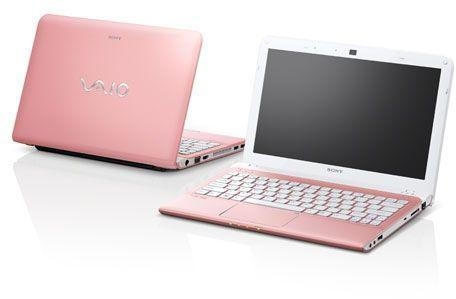 Sony vaio mini portable en couleur rose. 11.6 puce occasion,