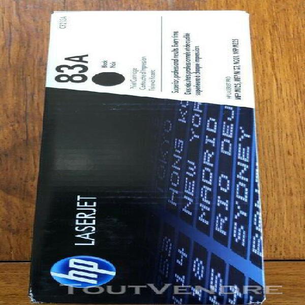 Toner cartouche encre imprimante hp laserjet pro 83 a - noir