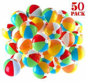 Ballons de plage gonflables 5 pouces pour la piscine, plage,