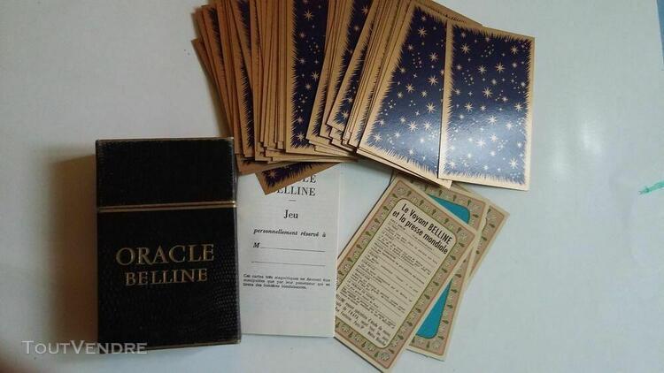 Carte tarot oracle belline de 1961 divinatoire voyance carto