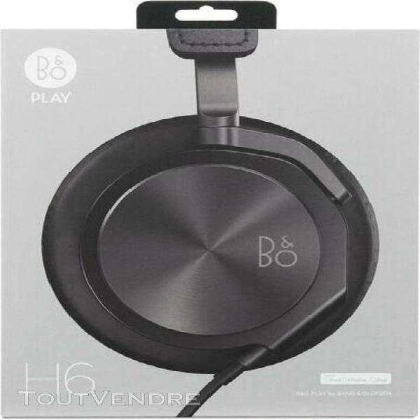 Casque bang & olufsen b&o h6 noir