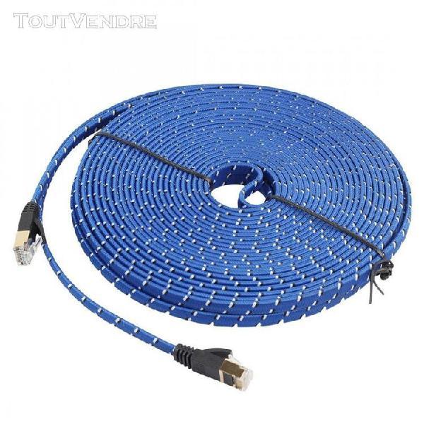 Câble 20 mètres - ethernet lan réseau rj45 - cat-7 10