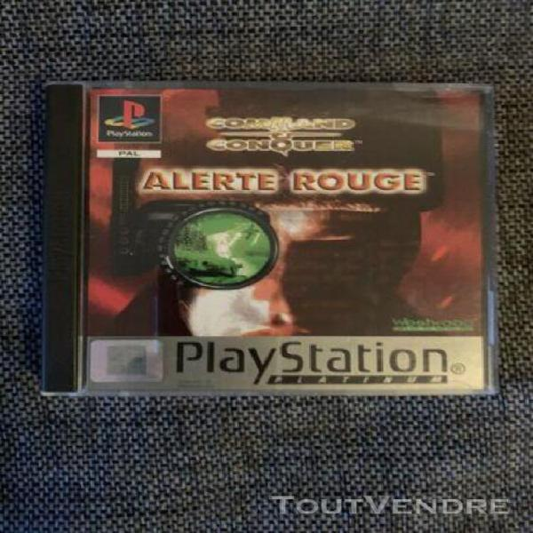 Command & conquer: alerte rouge - jeu ps1 sony playstation o