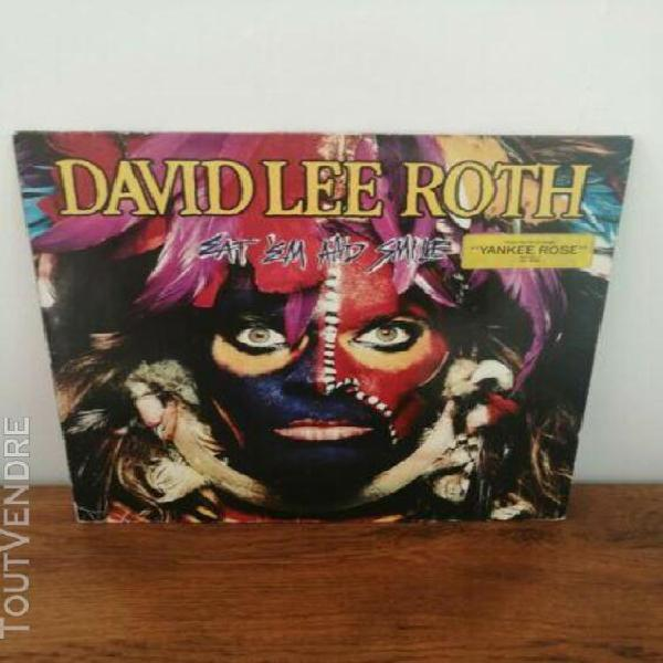 David lee roth - eat 'en and smile lp