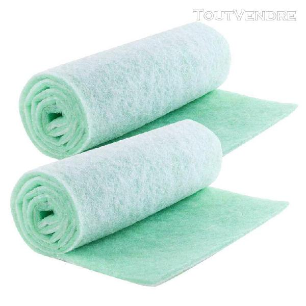 Filtre en mousse de coton éponge 2 pièces tampon éponge