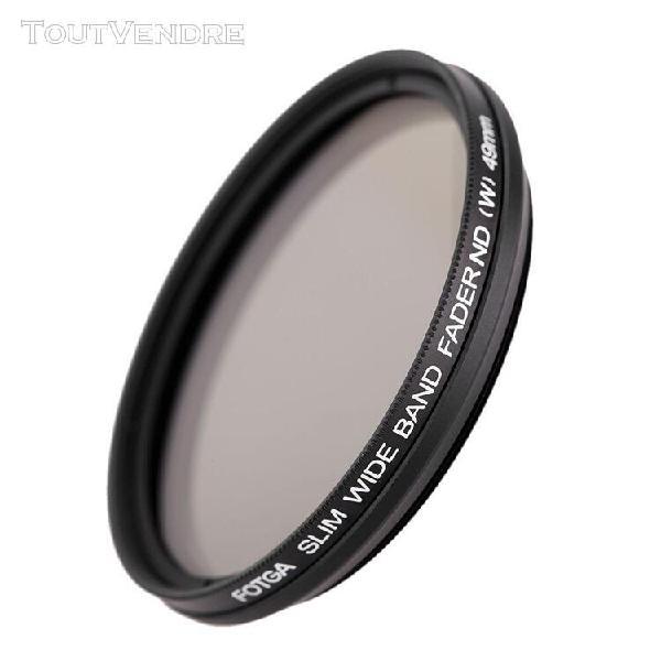 Fotga 49mm slim fader nd variable filtre réglable de