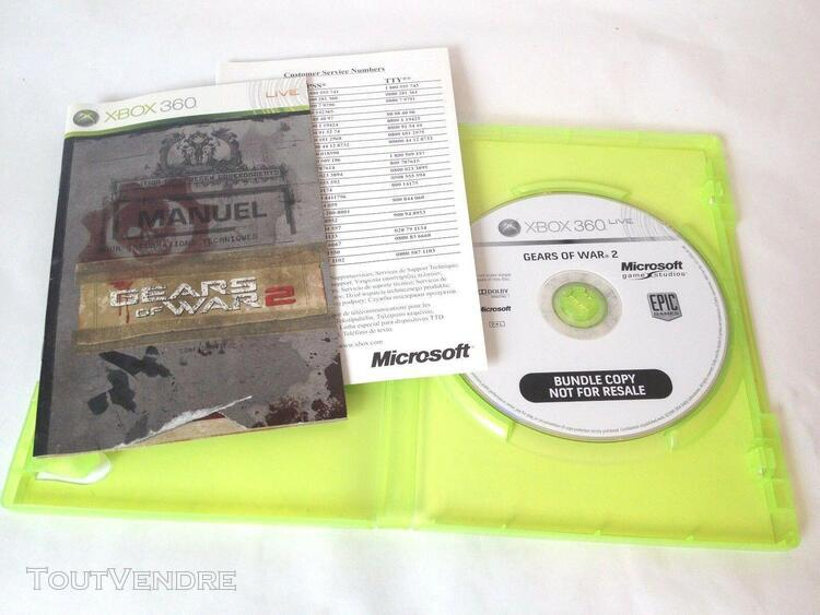 Gears of war 2, xbox 360, complet, bundle edition