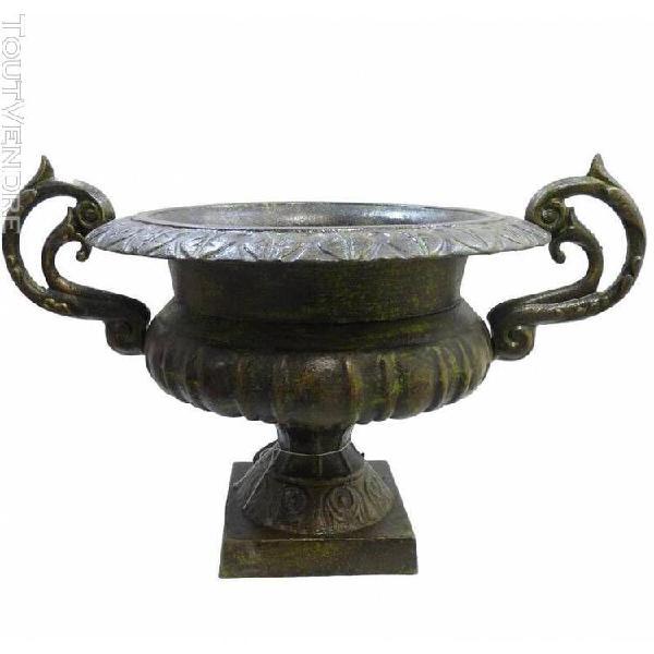 Grand vase vasque chambord jardinière de pilier pot de