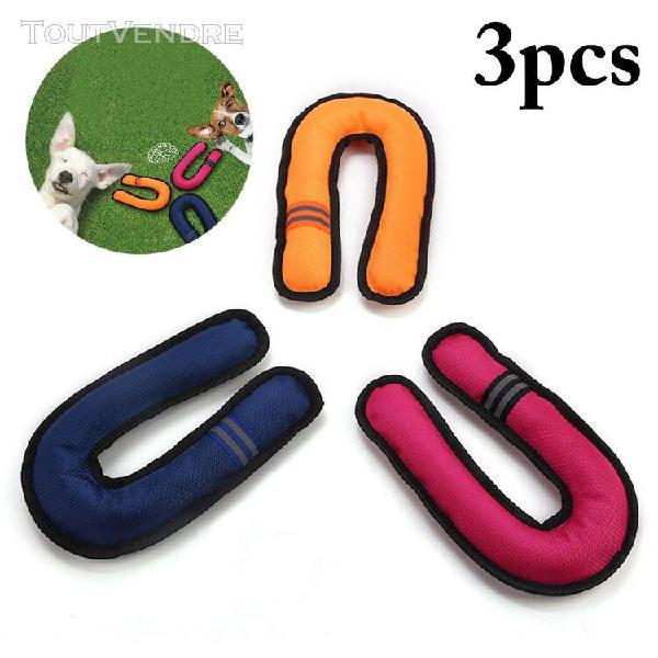 Jouet pour animaux de compagnie 3 pièces jouets amusants en
