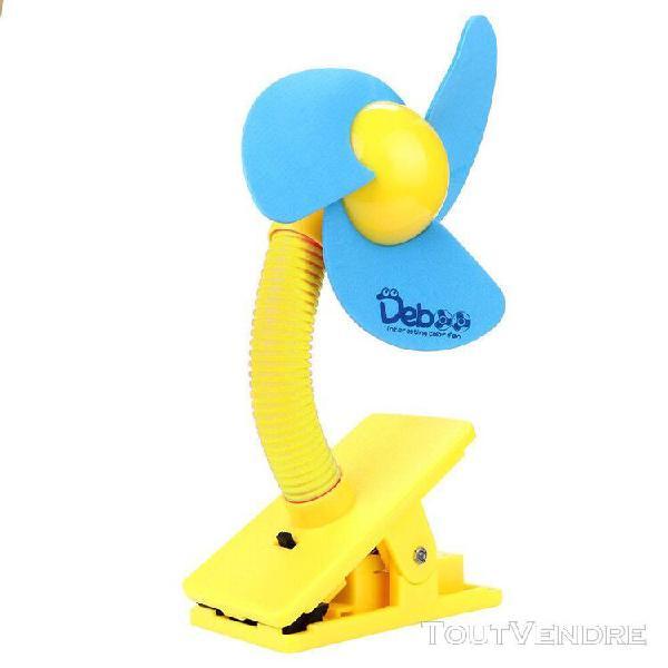Lomaoda poussette ventilateur portable bébé mini clip de
