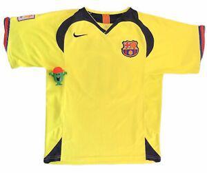 Maillot fc barcelone 2005/2006 ronaldinho - barcelona jersey