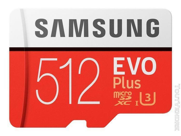Samsung evo plus mb-mc512ha - carte mémoire flash