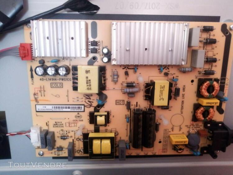 Tcl tv u49p6006 40-l141h4-pw carte d'alimentation power supp