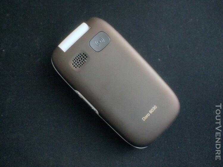 Téléphone mobile/portable doro 6030 -fonctions assistance,